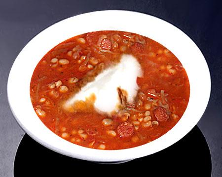 Суп с клёцками пошаговый рецепт с колбасой