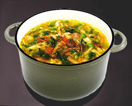 рецепт супа с зеленым горошком с фото