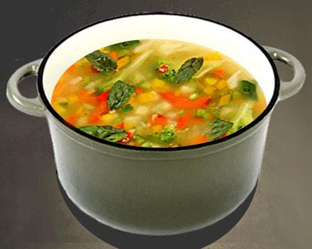 Суп из риса пошаговый рецепт
