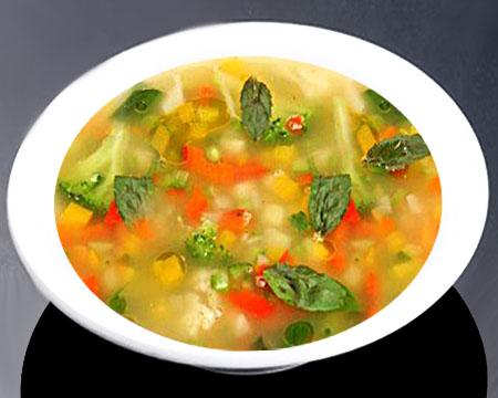 Овощной суп из брокколи рецепт
