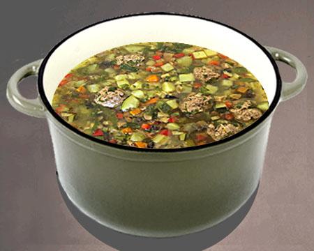 суп с фрикадельками пошаговый рецепт с фото в скороварке