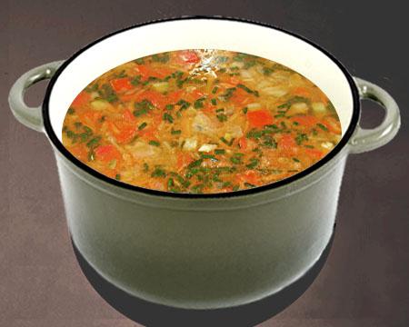 рецепт из кабачков суп с фото