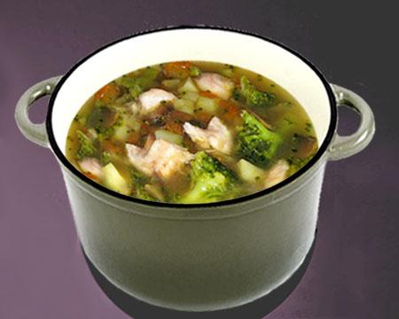 Супы из брокколи: пошаговые рецепты приготовления с фото