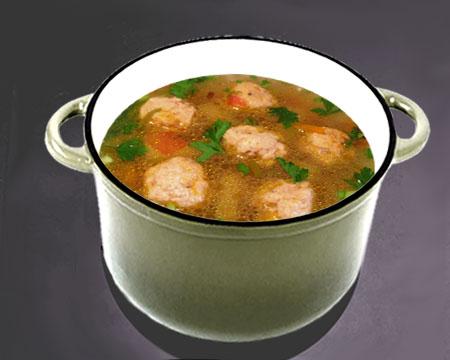 Рыбный суп из путассу