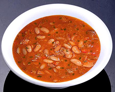 рецепт супа из фасоли лобио