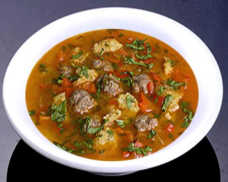картофельный суп с фрикадельками рецепт пошагово с фото