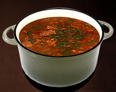 суп из перца чили по рецепту малышевой