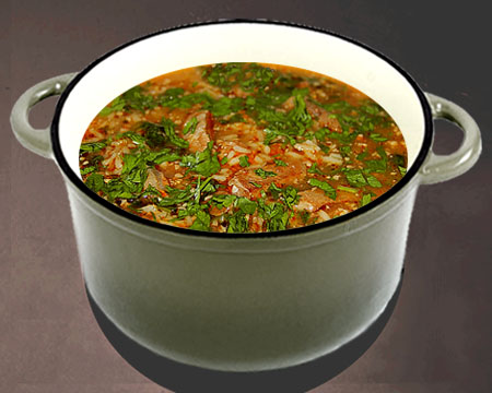 рецепт супа харчо с ткемали