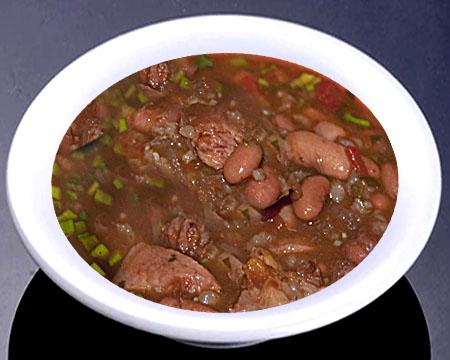 суп из фасоли и тушенки рецепт с фото