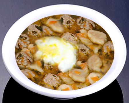 Суп с фрикадельками и галушками пошаговый рецепт