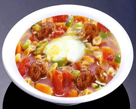 суп с фрикадельками замороженными пошаговый рецепт с фото