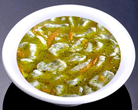Суп с галушками пошаговый рецепт