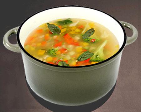 фасольевый суп для похудения рецепт