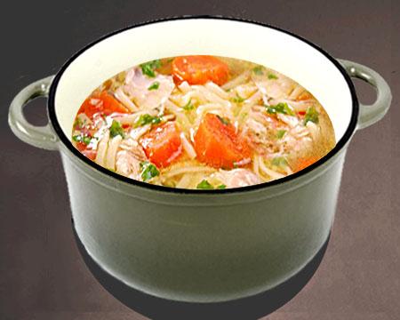 похудеть суп быстро луковый