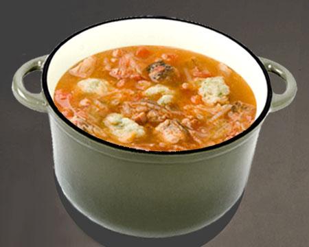 Суп из свежей рыбы