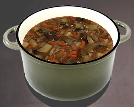 грибной суп с перловкой из замороженных грибов рецепт с фото пошагово