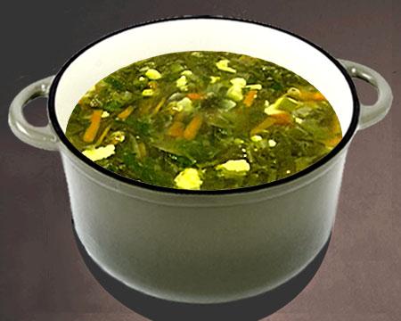 Как приготовить зеленый суп