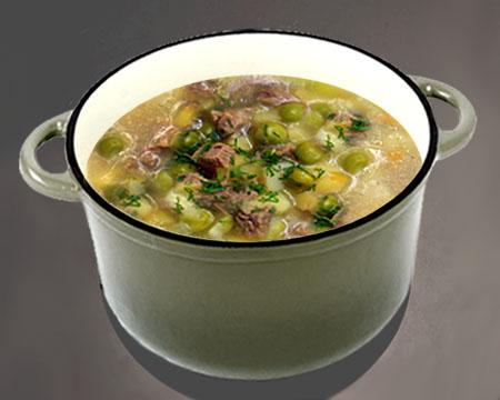 суп с зеленого горошка рецепты с фото